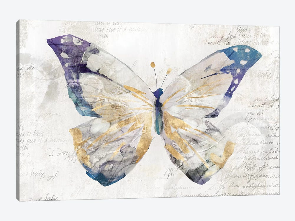 Butterfly Effect I  by Isabelle Z 1-piece Canvas Artwork