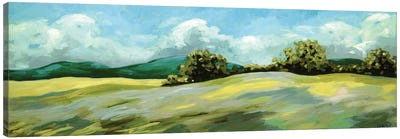 Lush Green Landscape Canvas Art Print