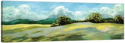 Lush Green Landscape Canvas Art Print
