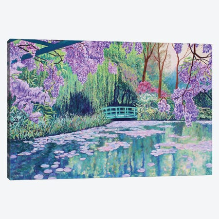 Summer Breeze Canvas Print #ZEN107} by Zoe Elizabeth Norman Art Print