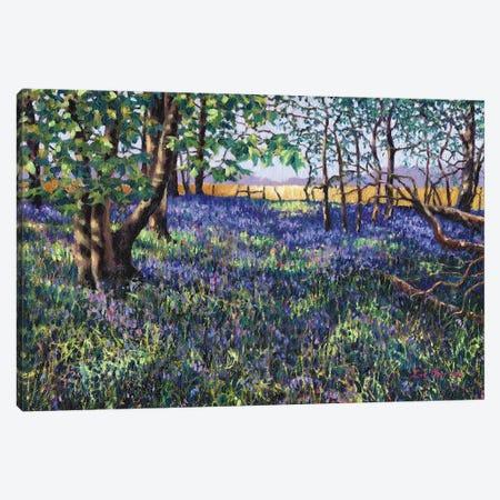 Bluebell Wood Canvas Print #ZEN11} by Zoe Elizabeth Norman Canvas Art Print