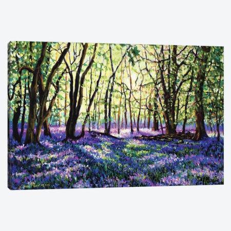 Bluebell Glade Canvas Print #ZEN12} by Zoe Elizabeth Norman Art Print