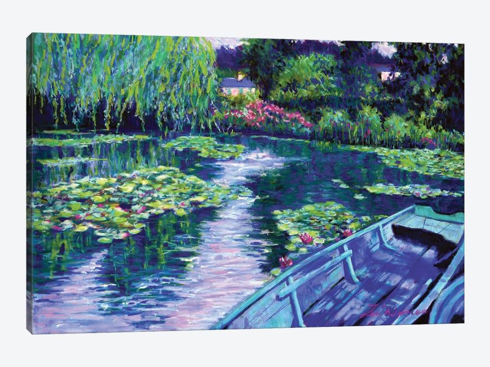 Boats At Giverny by Zoe Elizabeth Norman 1-piece Canvas Art