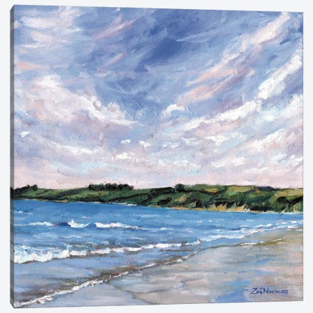 Carne Beach Canvas Print #ZEN28} by Zoe Elizabeth Norman Canvas Artwork