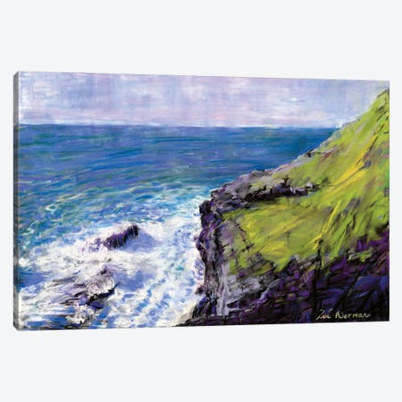 Tintagel Canvas Print #ZEN31} by Zoe Elizabeth Norman Canvas Art Print