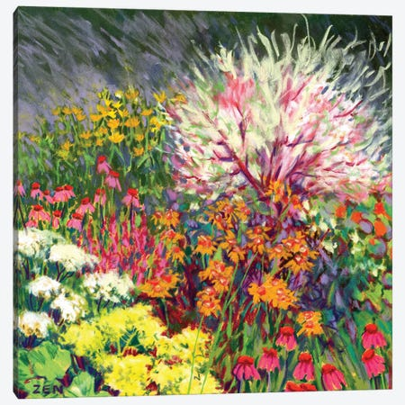 Hattie's Garden Canvas Print #ZEN33} by Zoe Elizabeth Norman Canvas Print