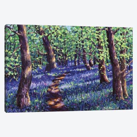 Into The Blue Canvas Print #ZEN34} by Zoe Elizabeth Norman Canvas Wall Art