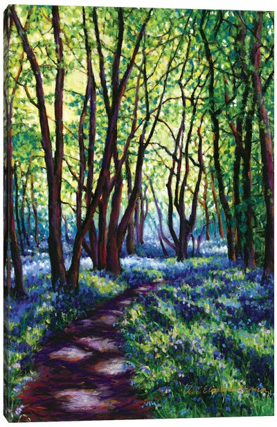 May Bluebells Canvas Art Print