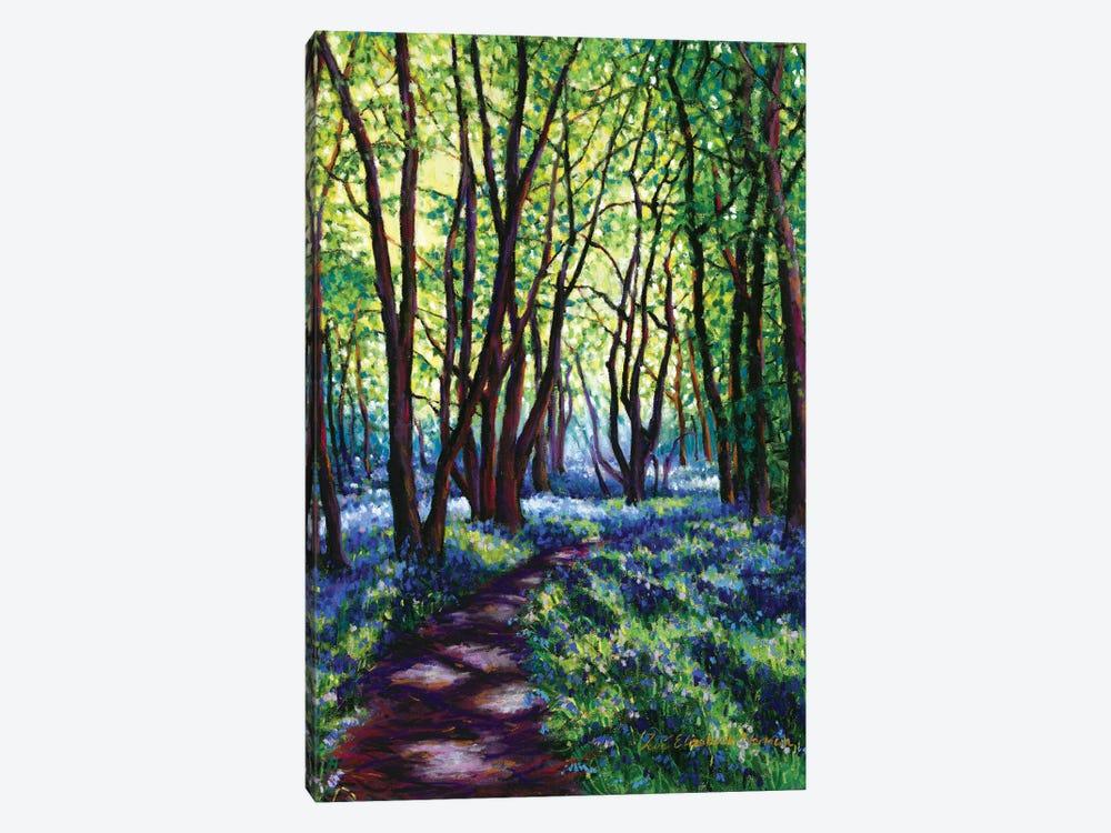 May Bluebells by Zoe Elizabeth Norman 1-piece Art Print