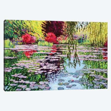 Monet's Water Garden Canvas Print #ZEN40} by Zoe Elizabeth Norman Canvas Art
