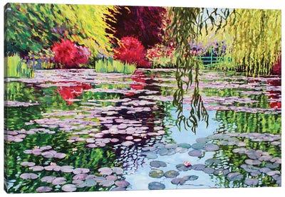 Monet's Water Garden Canvas Art Print