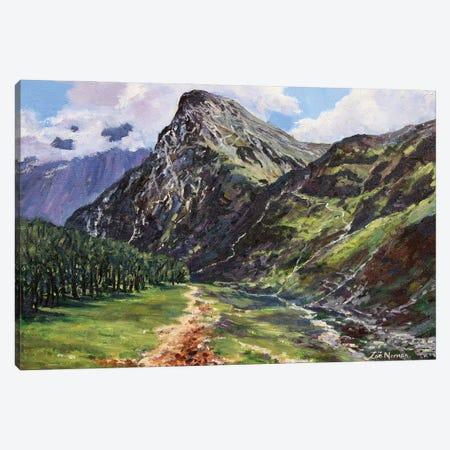 Mountain Path Canvas Print #ZEN44} by Zoe Elizabeth Norman Canvas Print