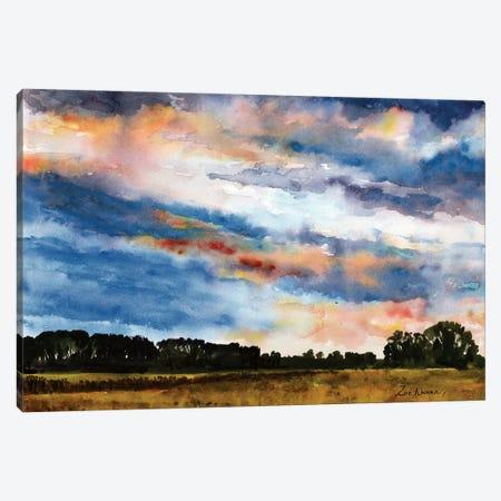Norfolk Sky Canvas Print #ZEN45} by Zoe Elizabeth Norman Art Print