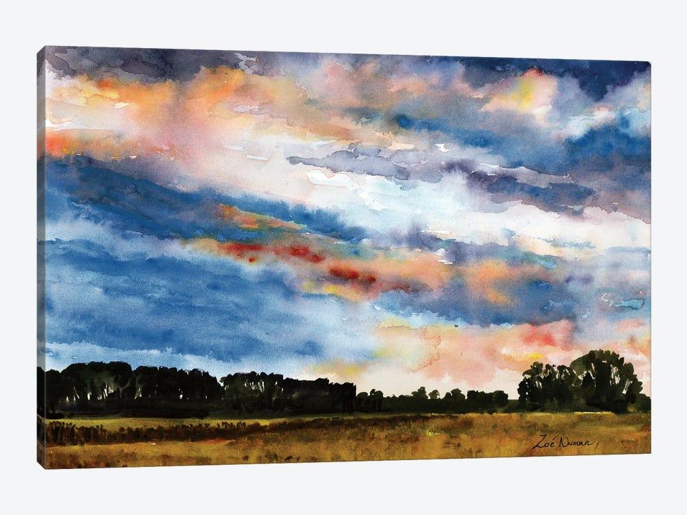 Norfolk Sky by Zoe Elizabeth Norman 1-piece Canvas Artwork