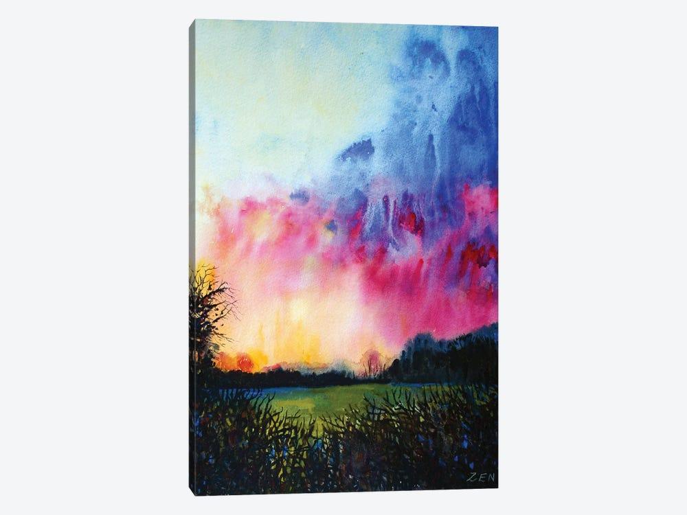 Norfolk Sunset by Zoe Elizabeth Norman 1-piece Art Print