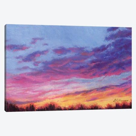 Autumn Glow Canvas Print #ZEN4} by Zoe Elizabeth Norman Canvas Art
