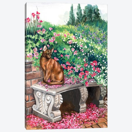 Garden Dreams Canvas Print #ZEN51} by Zoe Elizabeth Norman Art Print