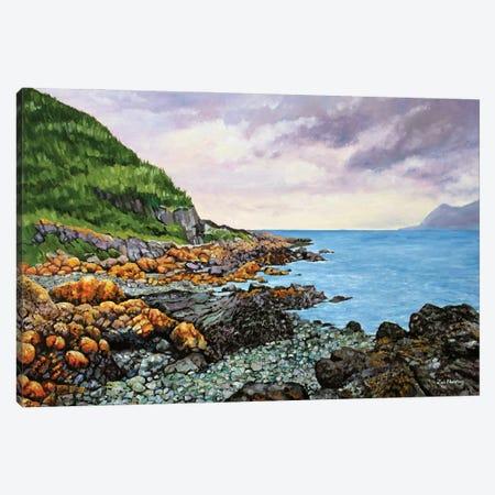 Porthdinlaen Cove Canvas Print #ZEN52} by Zoe Elizabeth Norman Art Print