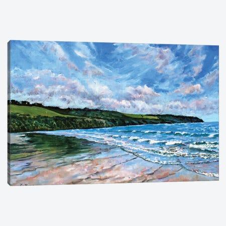 Sea Breeze Canvas Print #ZEN54} by Zoe Elizabeth Norman Canvas Artwork