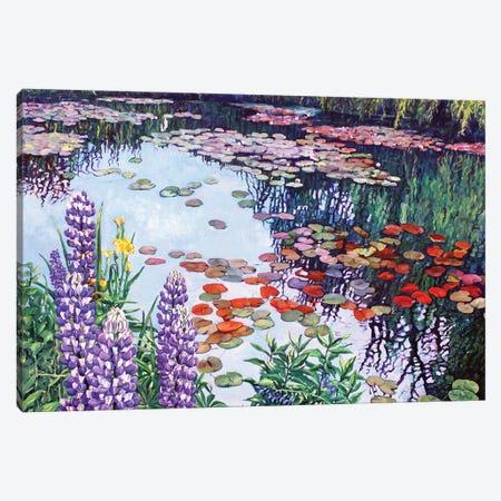 Shades Of Summer Canvas Print #ZEN55} by Zoe Elizabeth Norman Canvas Art