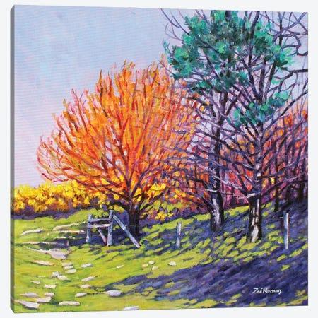 Sheringham Spring Canvas Print #ZEN56} by Zoe Elizabeth Norman Canvas Wall Art