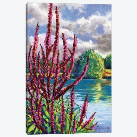 Summer On The Norfolk Broads Canvas Print #ZEN61} by Zoe Elizabeth Norman Canvas Wall Art