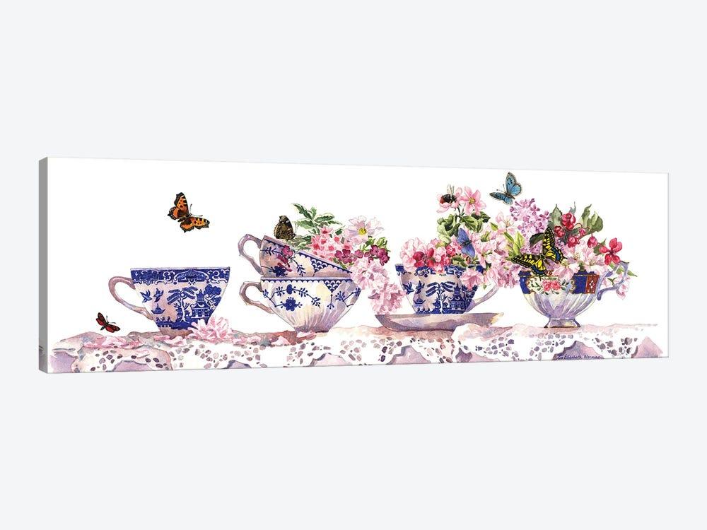 Tea Cups by Zoe Elizabeth Norman 1-piece Canvas Art Print
