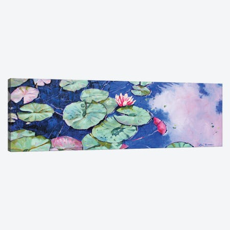 Tranquil Waterlilies Canvas Print #ZEN67} by Zoe Elizabeth Norman Canvas Print