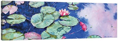 Tranquil Waterlilies Canvas Art Print