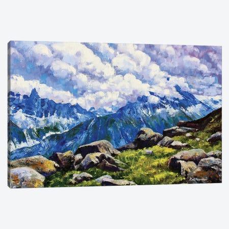 Alpine Heights Canvas Print #ZEN8} by Zoe Elizabeth Norman Art Print