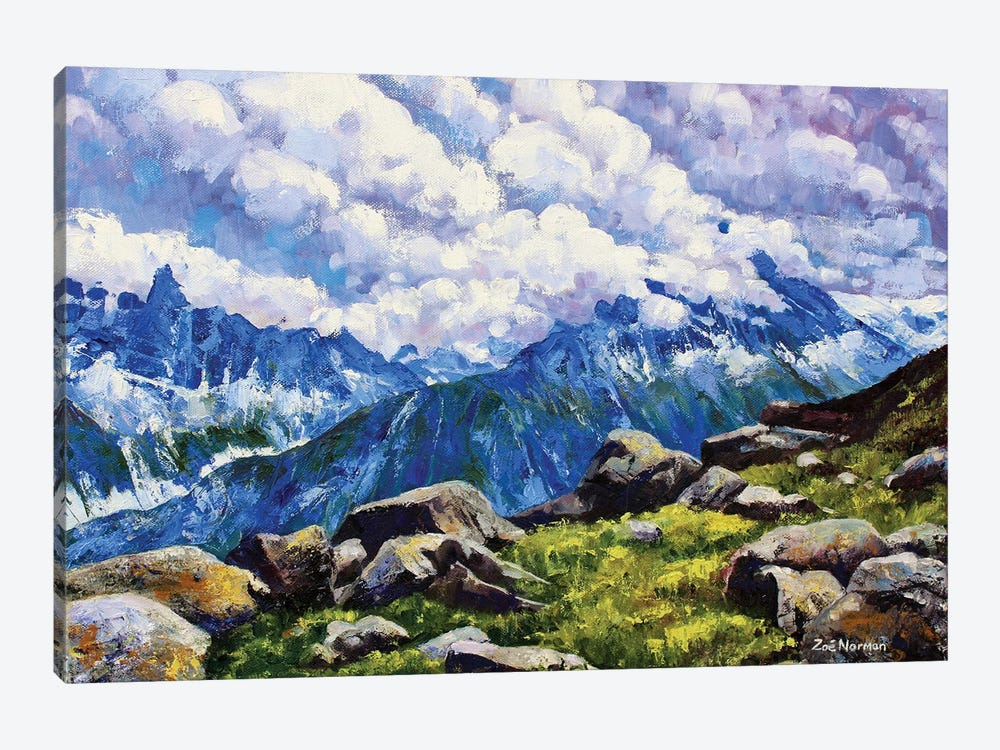 Alpine Heights 1-piece Canvas Artwork