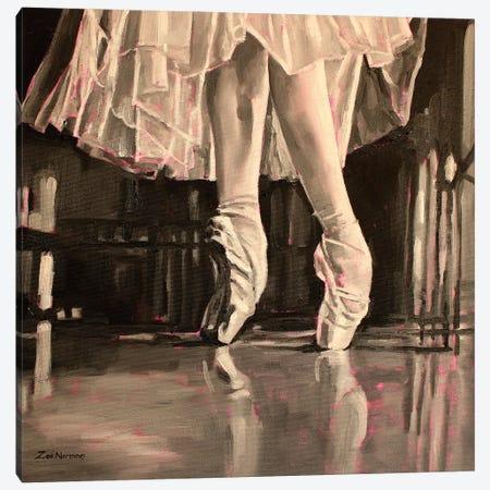 On Pointe Canvas Print #ZEN95} by Zoe Elizabeth Norman Canvas Wall Art