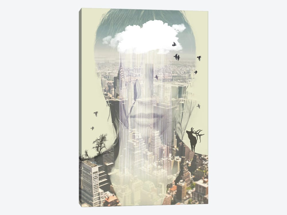 Wild New York by Vin Zzep 1-piece Canvas Art