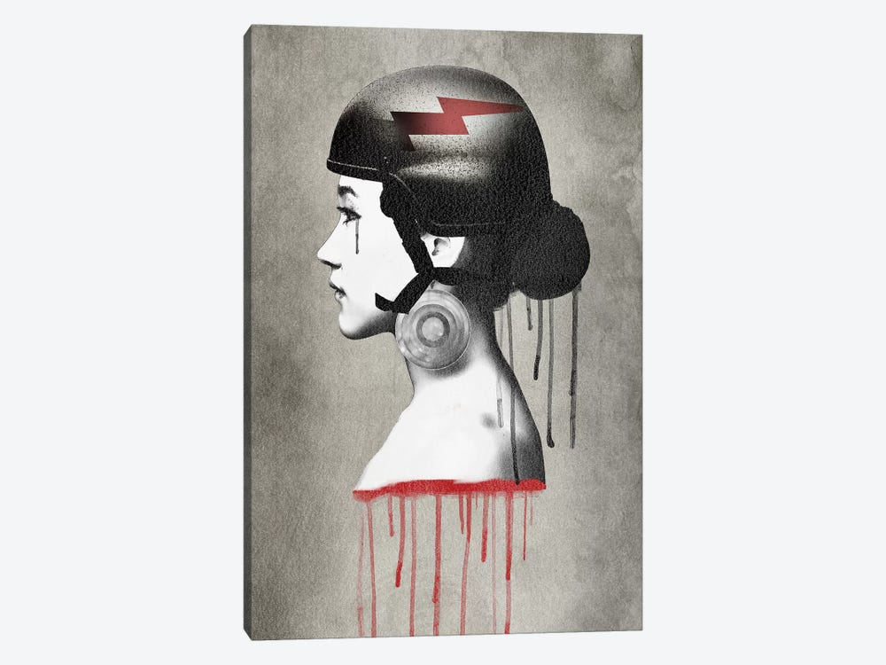 Army Queen Bolt II by Vin Zzep 1-piece Canvas Artwork