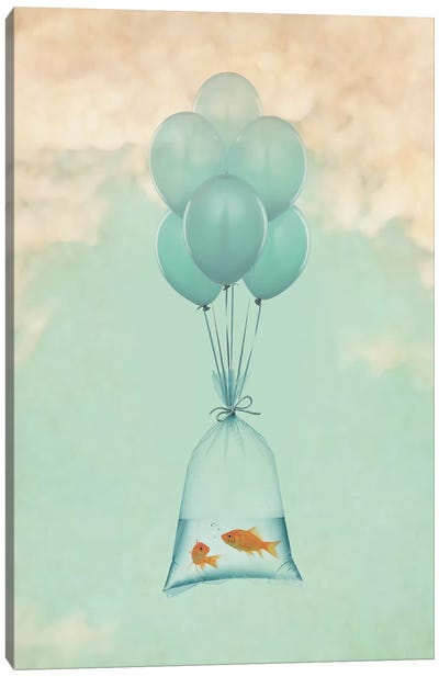 Flight To Freedom I Canvas Art Print