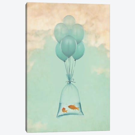 Flight To Freedom I Canvas Print #ZEP130} by Vin Zzep Canvas Art Print