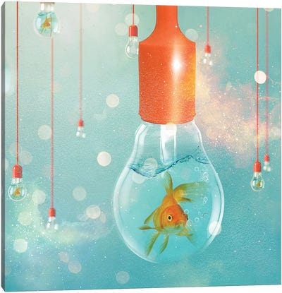 Goldfish Ideas II Canvas Art Print