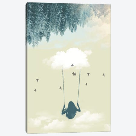 Lucy In The Sky III Canvas Print #ZEP152} by Vin Zzep Canvas Print