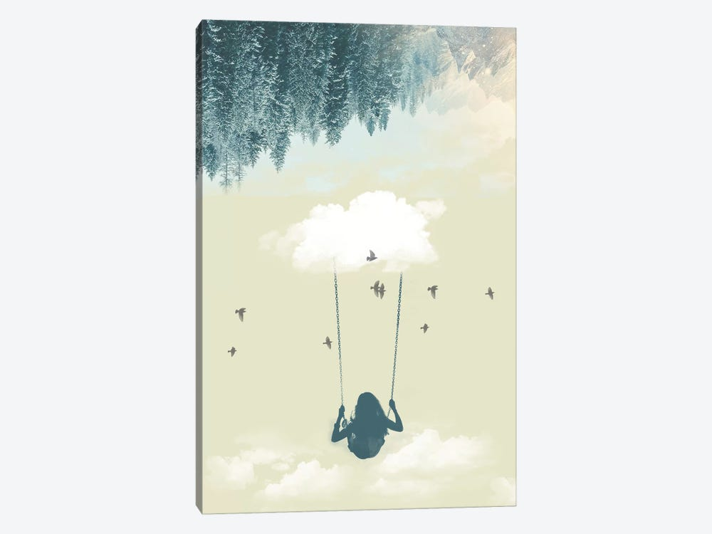 Lucy In The Sky III by Vin Zzep 1-piece Canvas Artwork