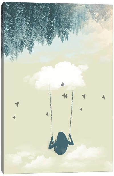Lucy In The Sky III Canvas Art Print