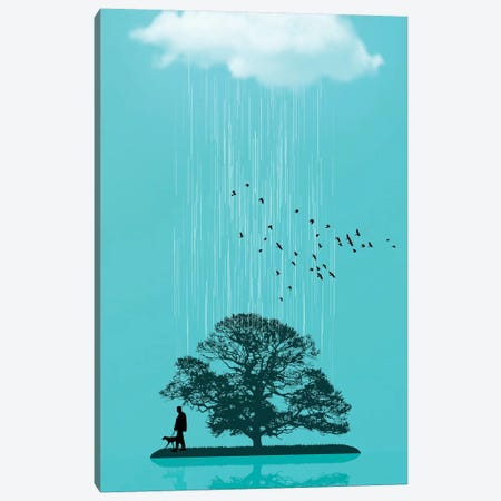 One Tree Hill Canvas Print #ZEP158} by Vin Zzep Art Print