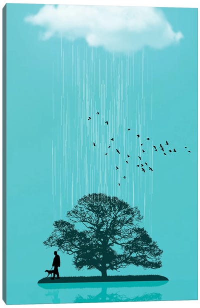 One Tree Hill Canvas Art Print