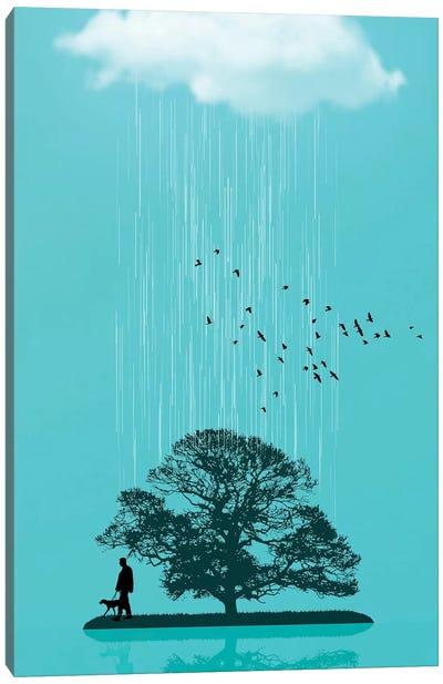One Tree Hill Canvas Art Print