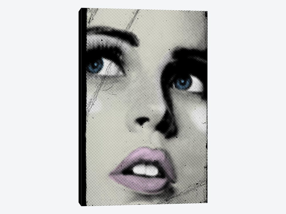 Face I by Vin Zzep 1-piece Canvas Wall Art
