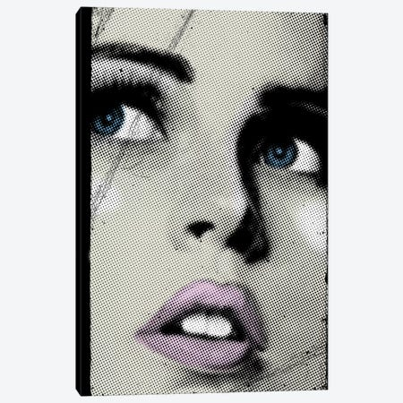 Face I Canvas Print #ZEP16} by Vin Zzep Canvas Wall Art