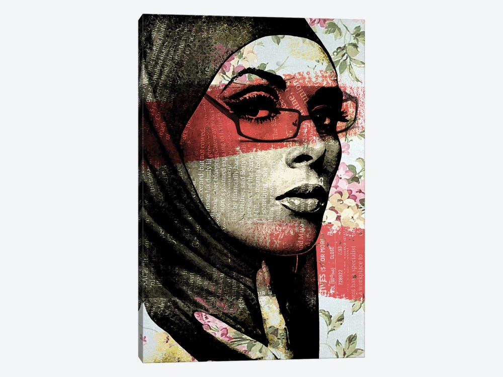 Face II by Vin Zzep 1-piece Canvas Art Print