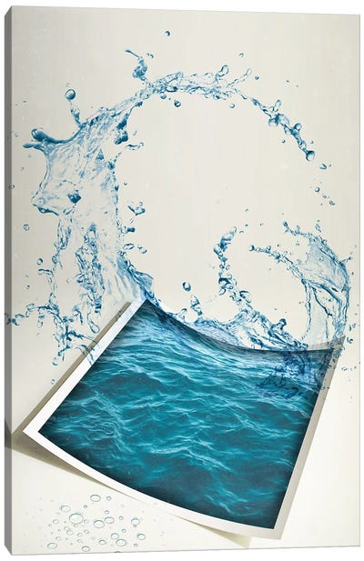 Water Paper Canvas Art Print