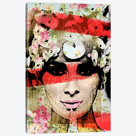 Face IV Canvas Print #ZEP19} by Vin Zzep Canvas Print