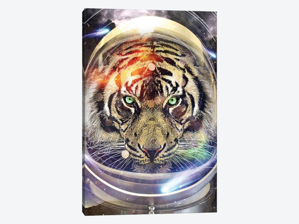 Astro Tiger by Vin Zzep 1-piece Art Print