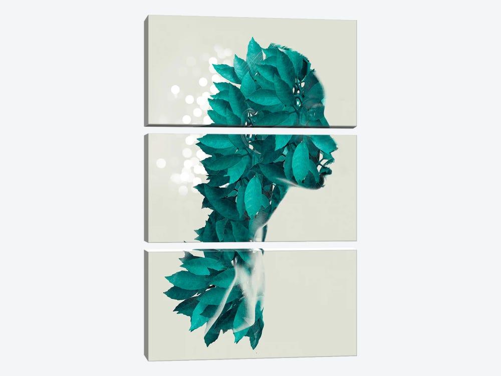 Masked Foliage by Vin Zzep 3-piece Art Print